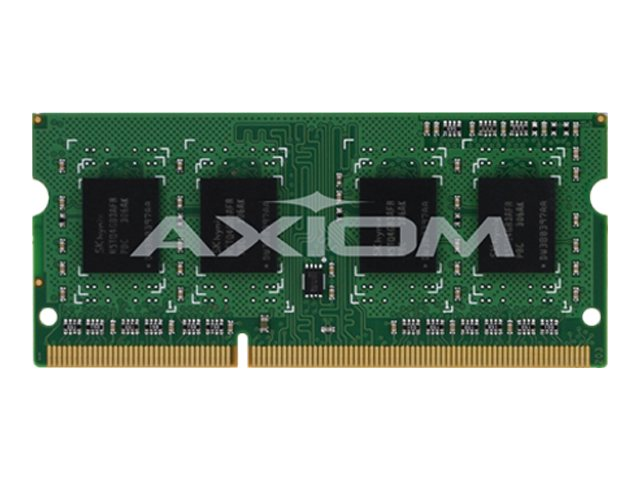 Axiom 4GB DDR3-1600 204-pin DDR3 SDRAM SODIMM for ThinkCentre M92p, ThinkPad Edge E530, ThinkPad X230, 0A65723-AX, 14513069, Memory