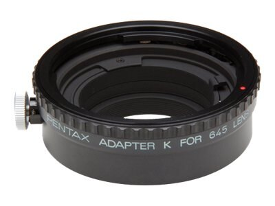 Pentax 645 Lens to Pentax 35mm K-Mount Body Adapter K, 38455, 9645809, Camera & Camcorder Accessories