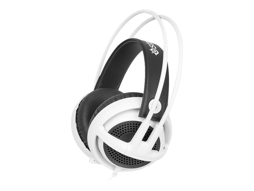 Steelseries Siberia v3Headset - White, 61356, 17837181, Headsets (w/ microphone)