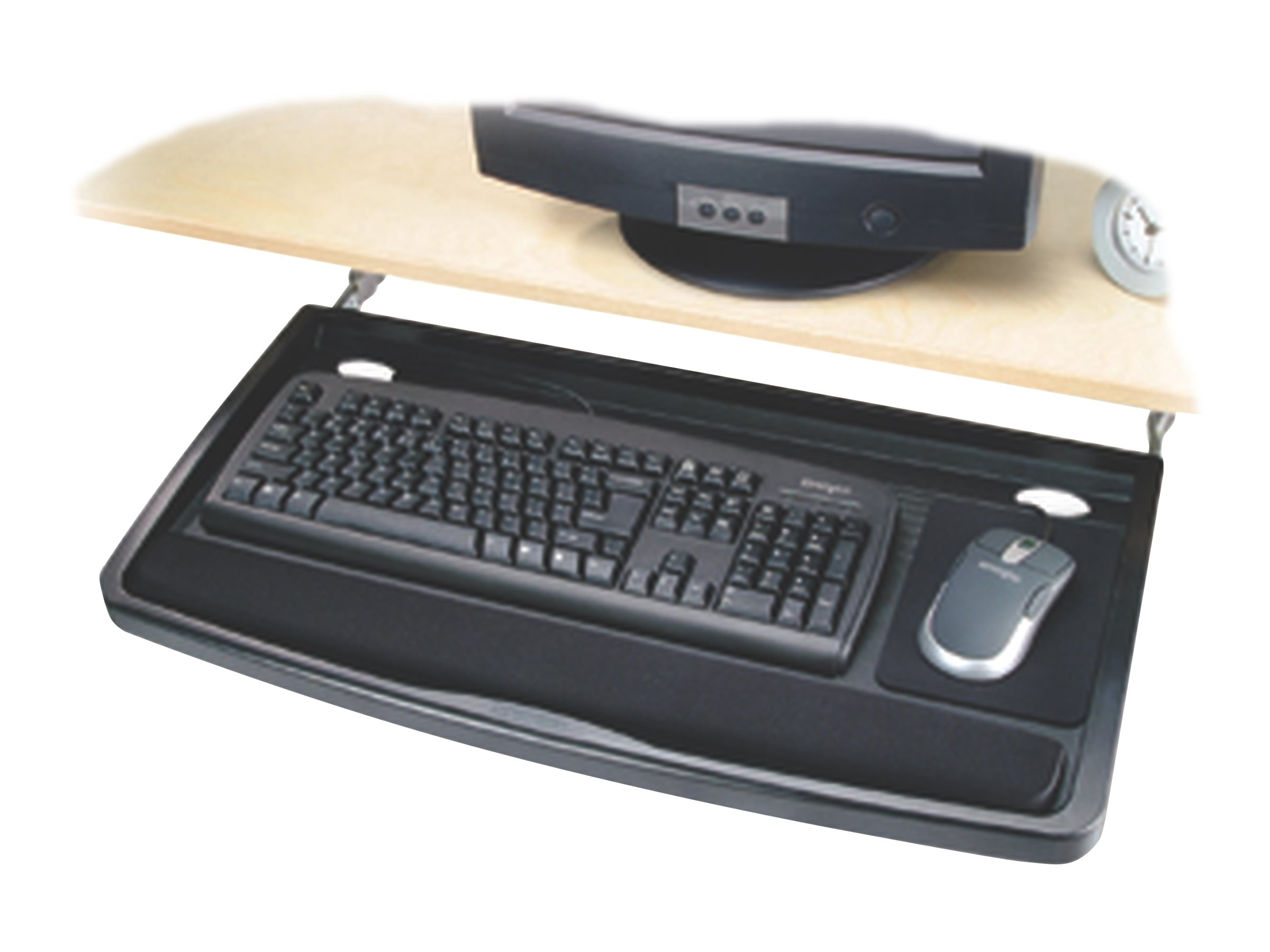 Kensington Underdesk Comfort Keyboard Drawer with SmartFit System, 60004, 8367561, Cart & Wall Station Accessories