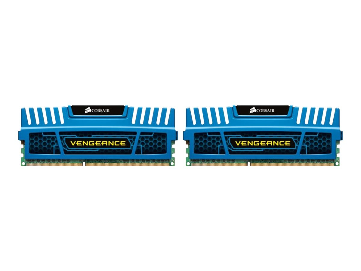 Corsair 16GB PC3-12800 240-pin DDR3 SDRAM DIMM Kit, CMZ16GX3M2A1600C10B, 15213421, Memory