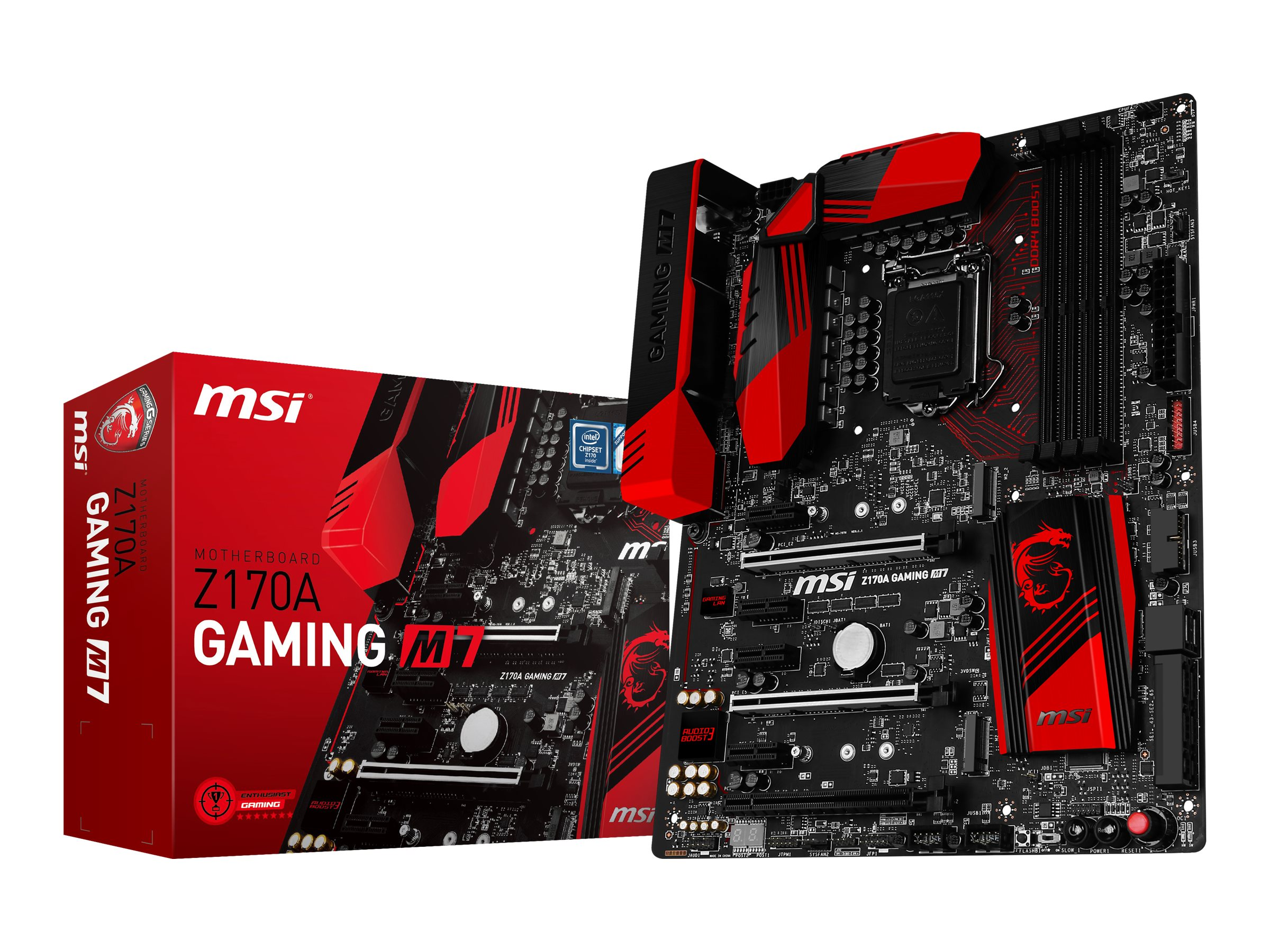 Microstar Motherboard, Z170A Gaming M7, Z170A Gaming M7