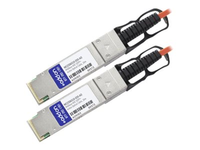 ACP-EP 40GBASE QSFP+ Active Optical Cable, 20m, MC2206310-020-AO