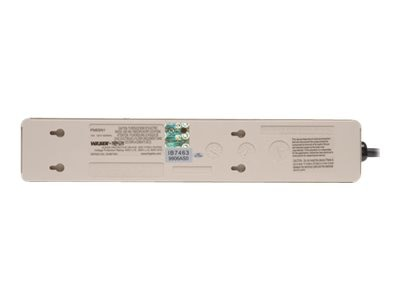 Tripp Lite Commercial-Grade Surge Suppressor Illuminated Switch, Diagnostic LEDs, 450 Joules (6) Outlets, PM6NS