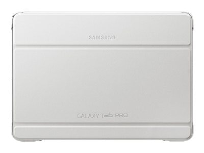 Samsung Galaxy Tab Pro 10.1 Book Cover, White, EF-BT520BWEGUJ, 16965747, Carrying Cases - Tablets & eReaders