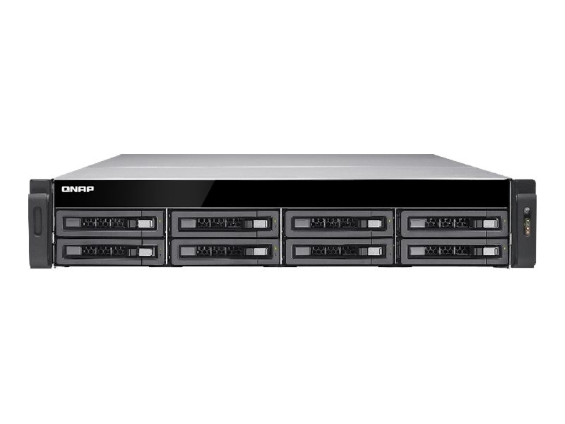 Qnap TS-EC880U-RP 8-Bay High Performance Unified Storage, TS-EC880U-RP-US