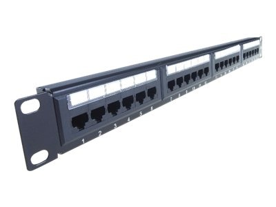 4Xem Cat6 24-Port Rackmount Patch Panel, 4XRMC6PP24