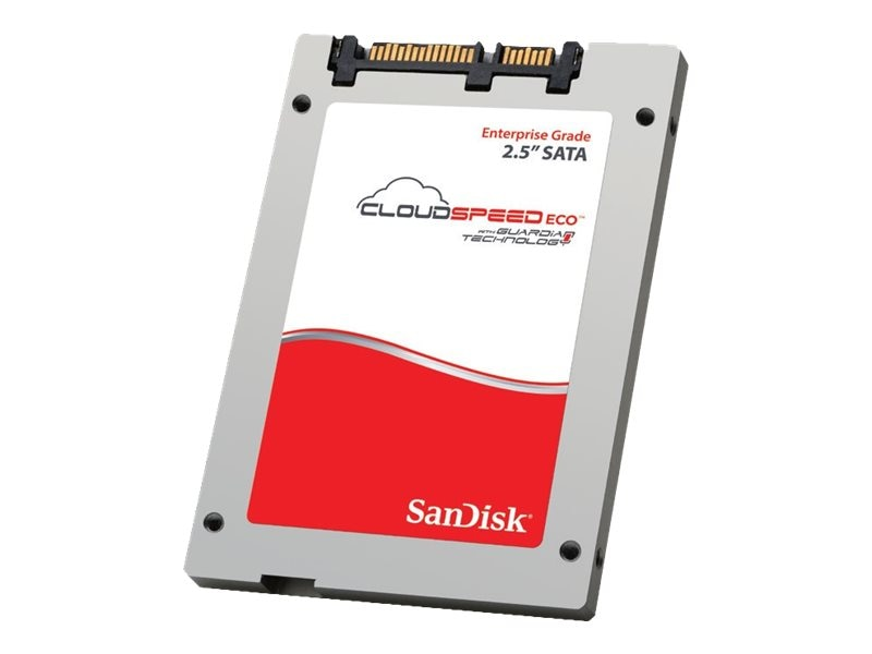 SanDisk 480GB Cloudspeed Eco SATA 6Gb s MLC 19nm 2.5 Internal Solid State Drive, SDLFNDAR-480G-1HA2, 18046429, Solid State Drives - Internal