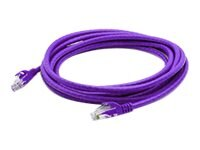 ACP-EP CAT6A UTP Snagless Patch Cable, Purple, 7ft