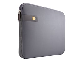 Case Logic Chromebooks Ultrabooks Sleeve 13.3, Graphite, LAPS-113GRAPHITE, 17365372, Protective & Dust Covers