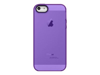 Belkin Grip Candy Sheer Case, Fountain Blue Purple for iPhone 5, F8W138TTC07