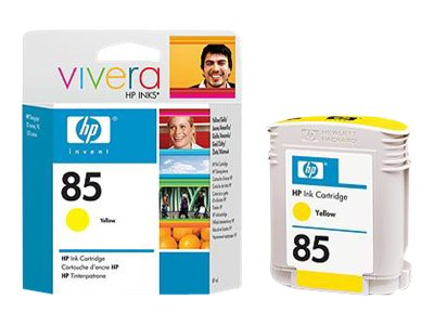 HP 85 Yellow Ink Cartridge for DesignJet 30, 90 & 130 Series, C9427A