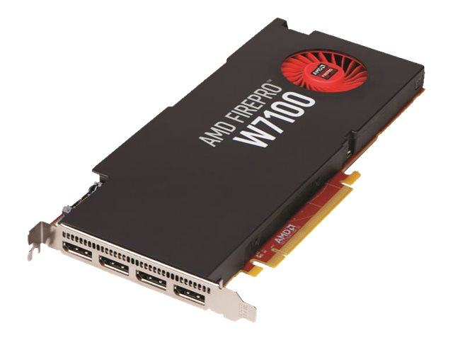 Sapphire AMD FirePro W7100 PCIe 3.0 x16 Graphics Card, 8GB GDDR5, 100-505724, 18118699, Graphics/Video Accelerators