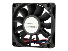 StarTech.com 70 x 70 x 15mm TX3 Replacement Fan, FAN7X15TX3, 7099912, Cooling Systems/Fans