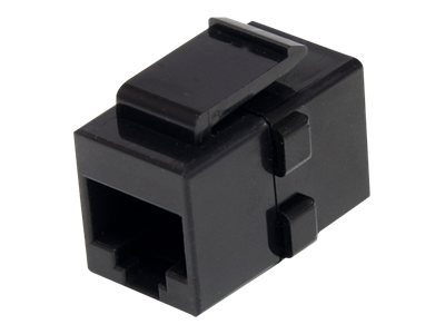 StarTech.com RJ-45 Keystone Jack Coupler, Cat6, F F, Black, C6KEYCOUPLER, 13647840, Cable Accessories