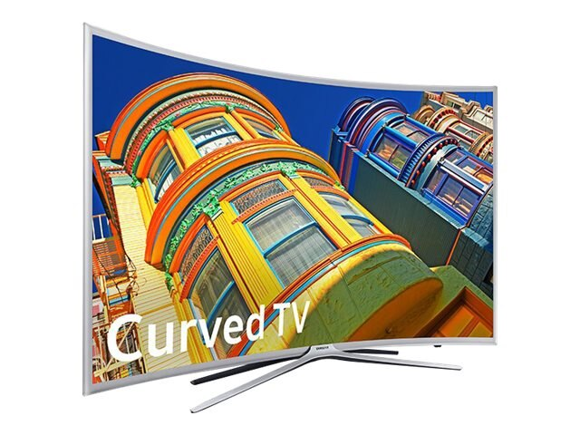 Samsung 48.5 K6250 Full HD LED-LCD Curved TV, Silver, UN49K6250AFXZA