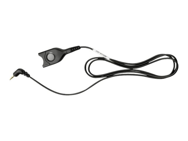 Sennheiser Dect GSM Cable, Easy Disconnect to 2.5 mm 3-Pole Plug, 38