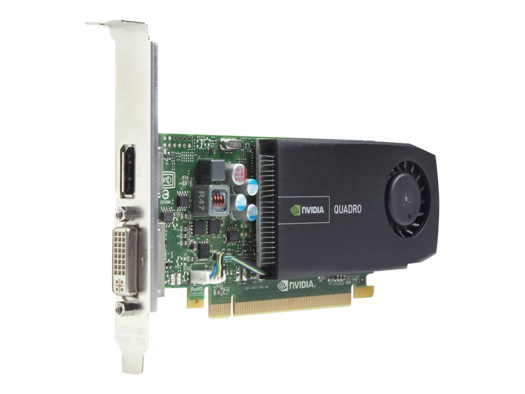 HP NVIDIA Quadro 410 PCIe 2.0 x16 Graphics Card, 512MB DDR3, A7U60AT, 14645504, Graphics/Video Accelerators