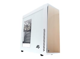 Zalman Chassis, R1 ATX Mid Tower 5x3.5 Bays 2x5.25 Bays 7xSlots, White, R1-(WHITE), 31123425, Cases - Systems/Servers