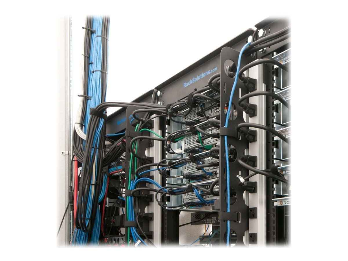 Innovation First Cable Organizer for Rack-111 44U Only, Additional Vertical Bar