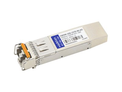 ACP-EP 10GBASE-ER CWDM LC SFP+ 1570NM 40KM for Cisco, CWDM-10G-1570-40-AO