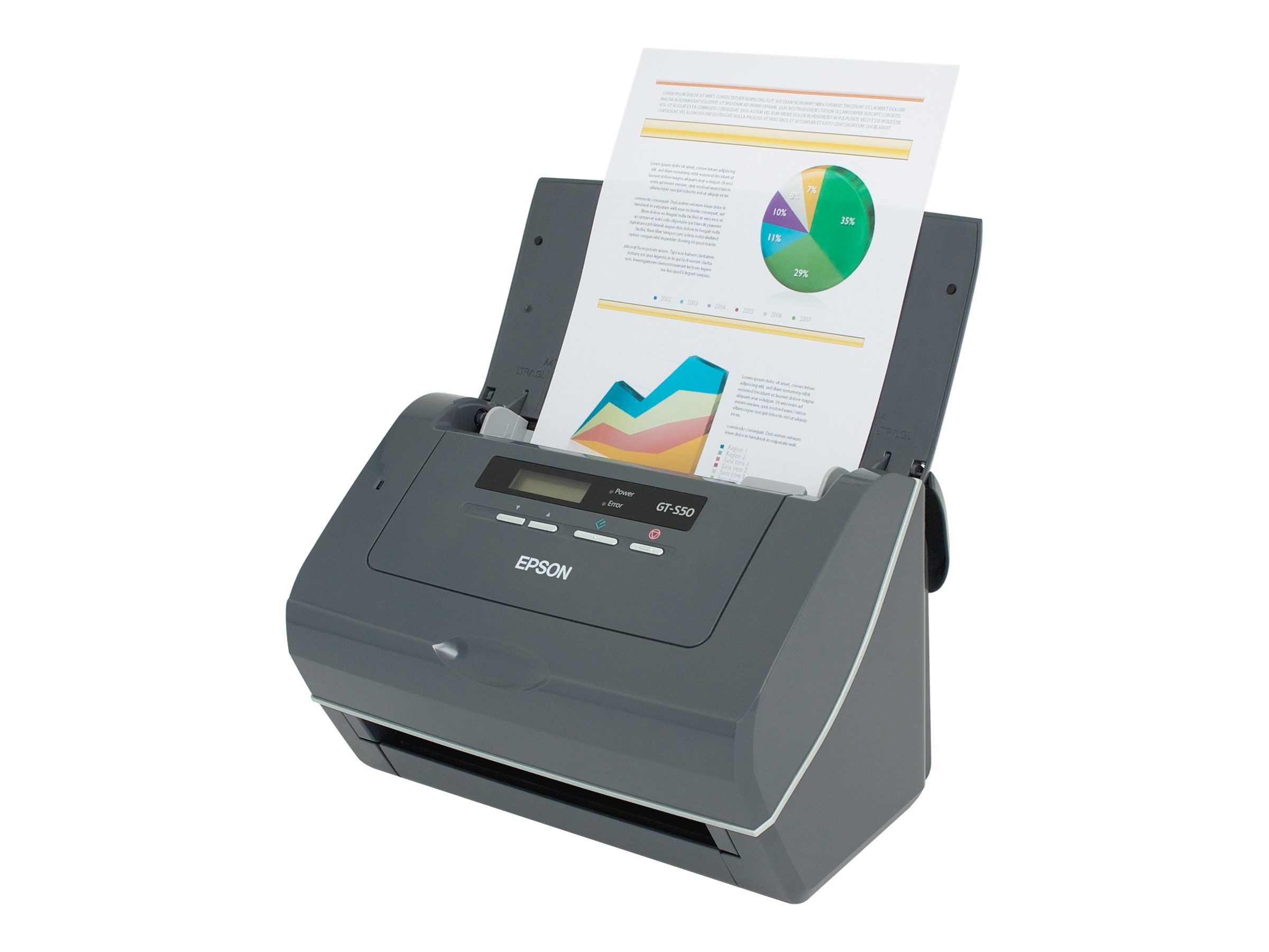 Epson WorkForce Pro GT-S50 Scanner, B11B194011, 9324095, Scanners