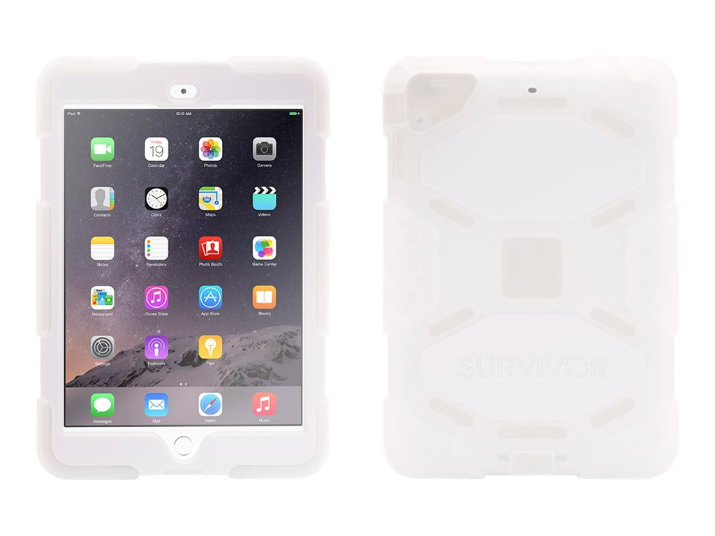 Griffin Survivor Case for iPad mini 1 2 3, Clear White