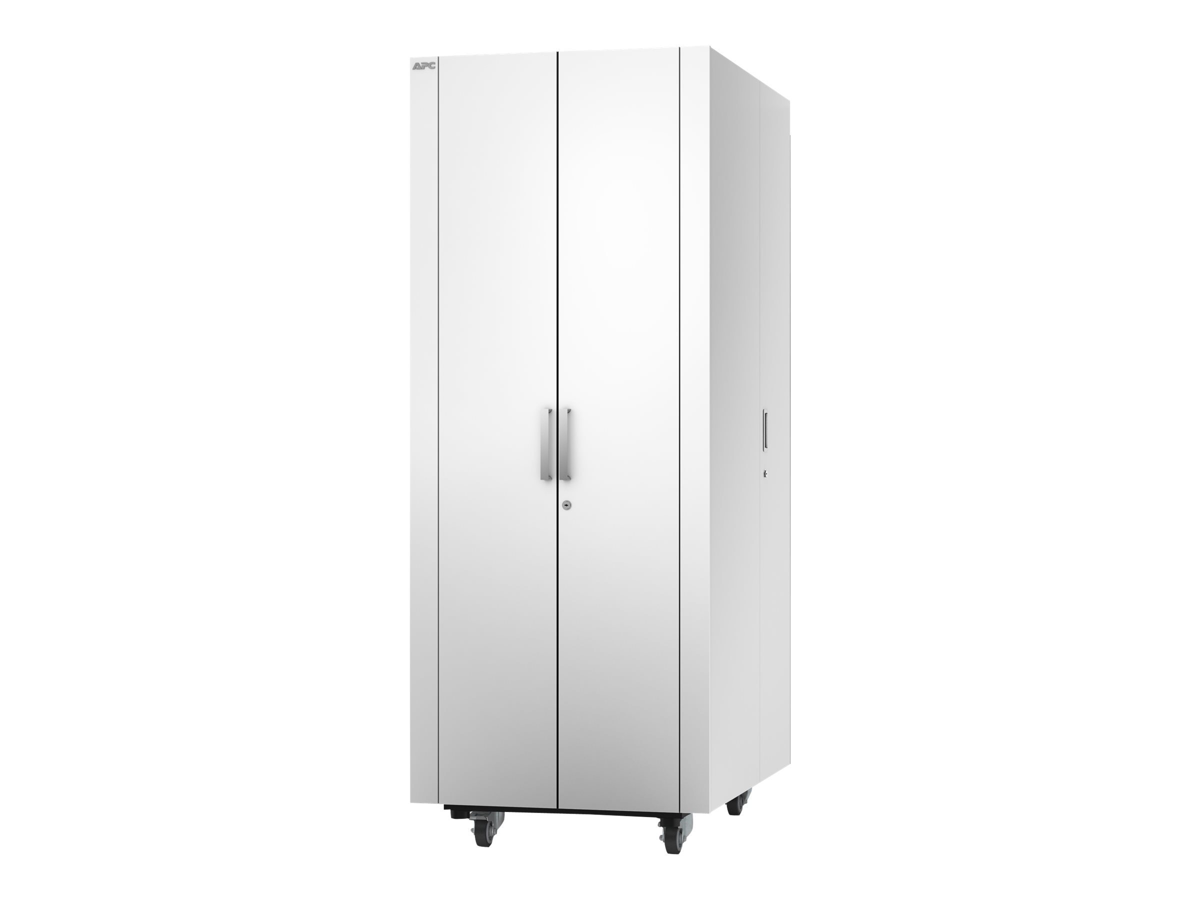 APC Netshelter CX 38U x 750mm x 1130mm Deep Enclosure, White Finish, AR4038X432