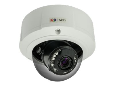 Acti 2MP Outdoor Day Night Extreme WDR 3x Zoom Dome Camera