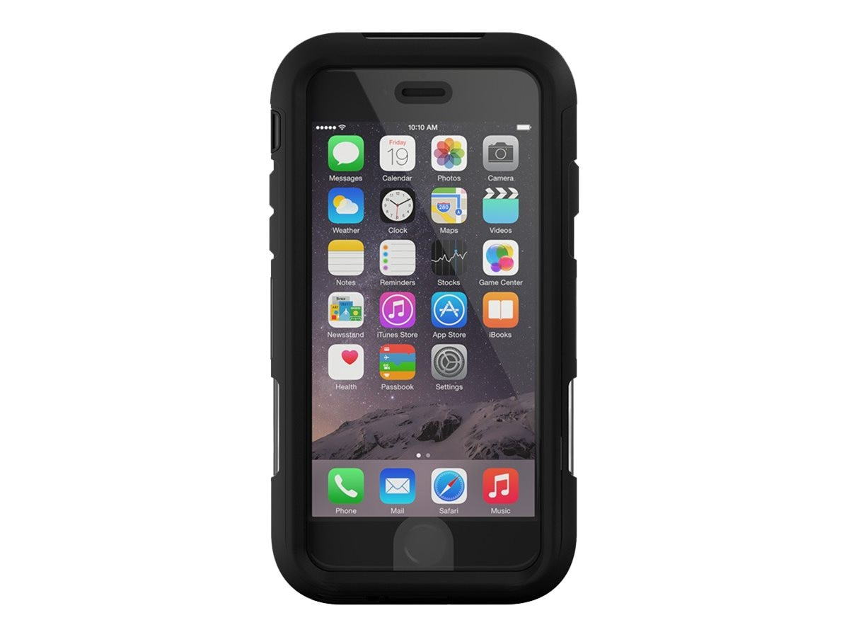 Griffin Survivor Summit for iPhone 6 6s, Black Clear