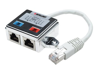 Intellinet 2 Port Modular RJ45 Distributo, 504195, 15425829, Network Switches