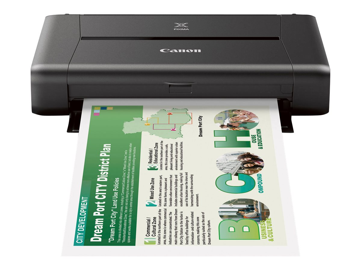 Canon IP110 Wireless Mobile Inkjet Printer, 9596B002