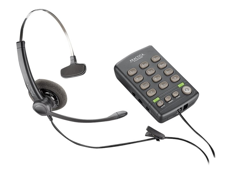 Plantronics T110H Standard Phone - Corded - 1 x Phone Line BASE FOR USE WITH PLT INHIN, 204556-01