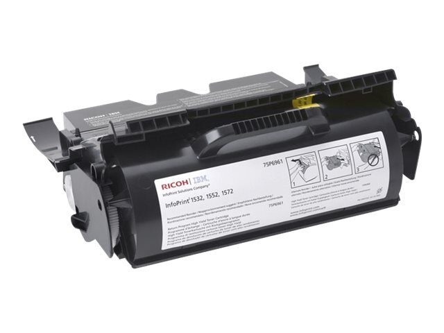 IBM Black Return Program High Yield Toner Cartridge for IBM Infoprint 1532, 1552 & 1572, 75P6961, 6037138, Toner and Imaging Components