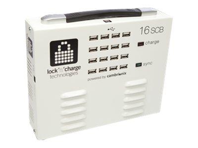 Lock N Charge Sync Charge Box for iPad, iOS Devices