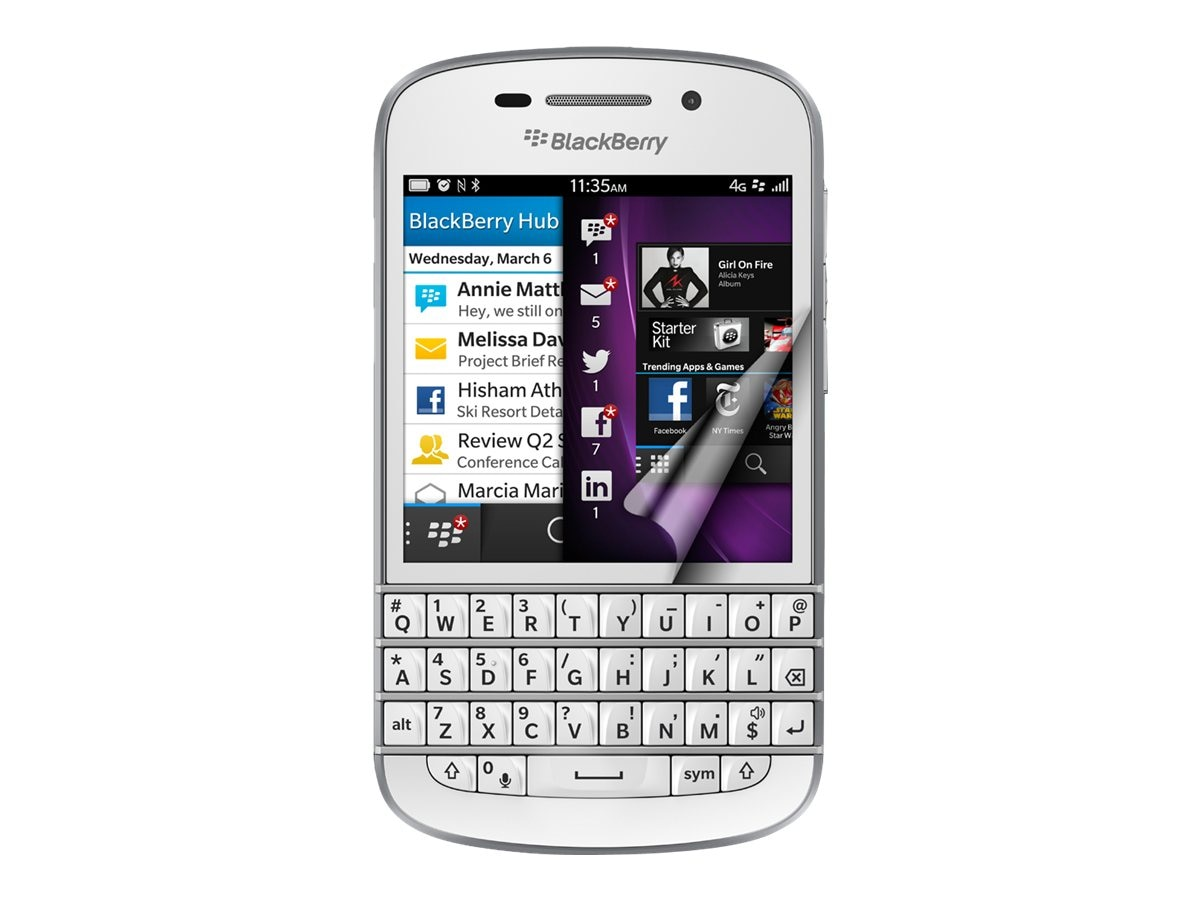 Green Onions Supply AG+ Anti-Glare Screen Protector for Blackberry Q10, RT-SPBBQ1002HD, 15968680, Protective & Dust Covers