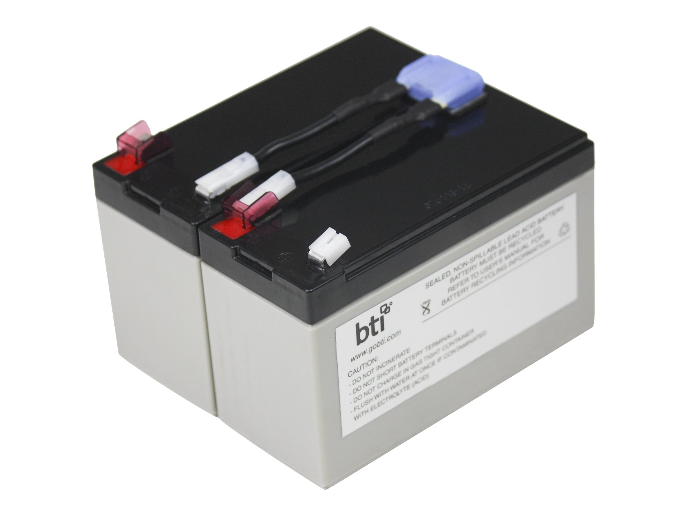 BTI Replacement UPS Battery for APC RBC9 SU700RM SU700RMNET, RBC9-SLA9-BTI