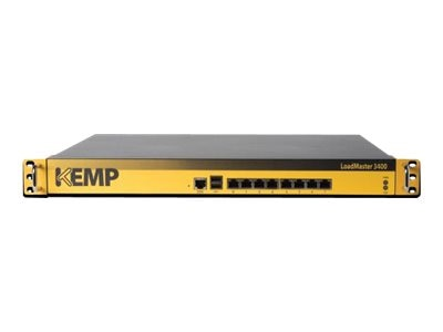 KEMP LoadMaster LM-3400 8-Port GbE Load Balancer (Sup Reqd), LM-3400