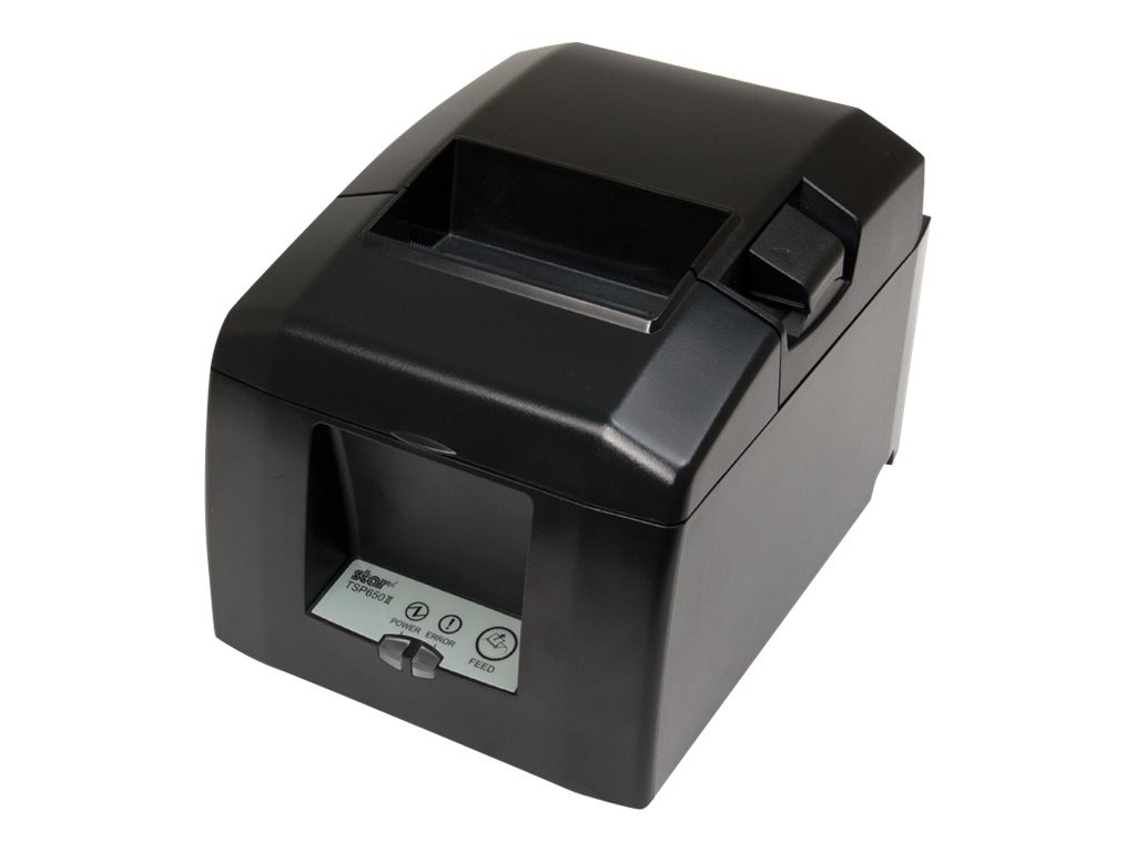 Star Micronics TSP654II Web Print 24 Thermal Ethernet Printer - Gray w  Cutter, 37963901