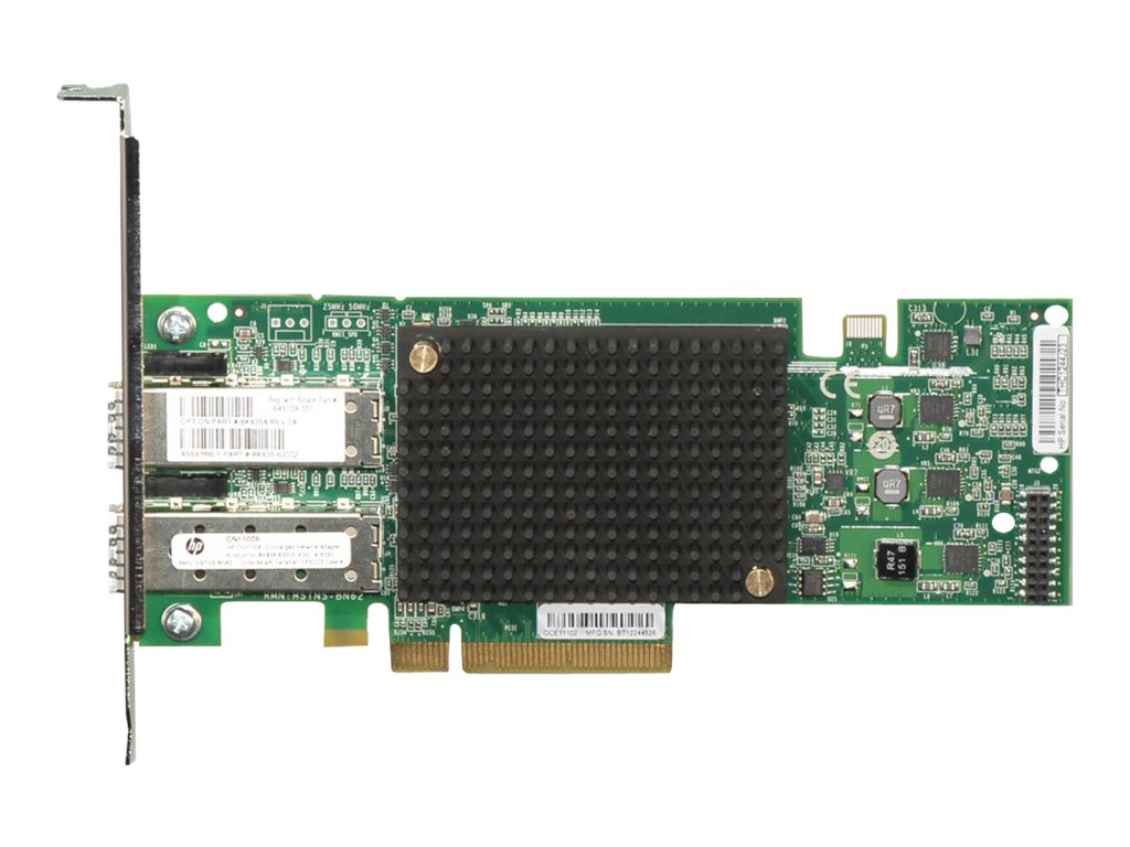 HPE CN1100E Dual Port Converged Network Adapter, BK835A, 13309891, Network Adapters & NICs
