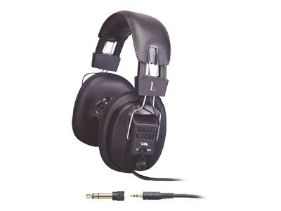 Cyber Acoustics Stereo Headphones with Volume Control, ACM-500RB
