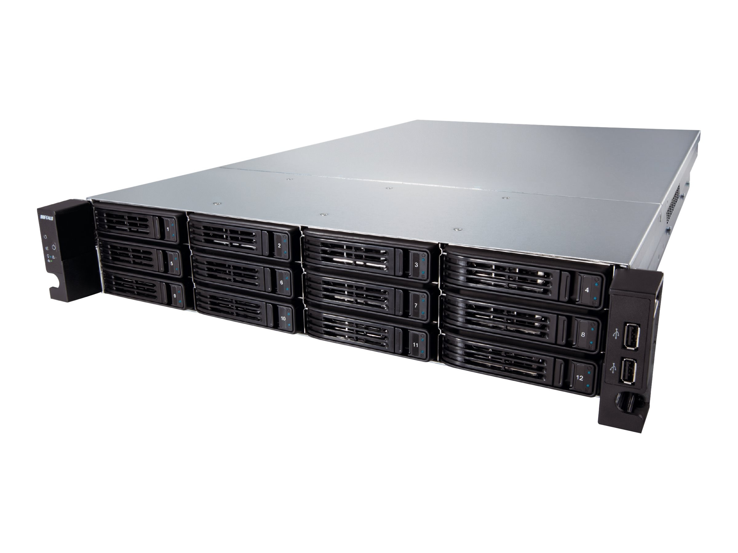 BUFFALO 24TB TeraStation 7120r Enterprise, TS-2RZH24T12D