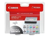 Canon PGI-9 Value Pack (10-color multi-pack for Pixma Pro 9500), 1033B005, 7585259, Ink Cartridges & Ink Refill Kits