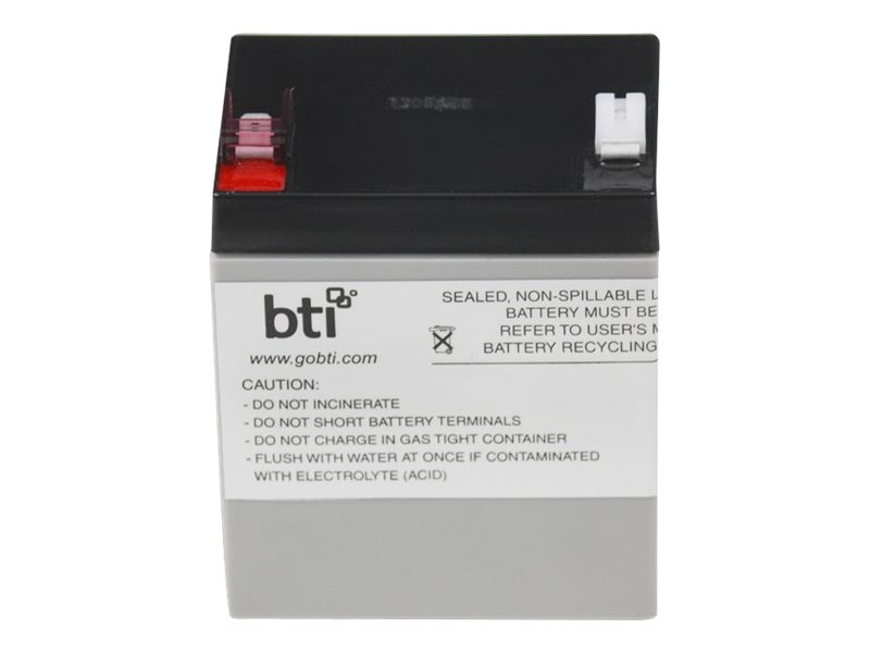 BTI Replacement UPS Battery for APC RBC46 BE500, RBC46-SLA46-BTI