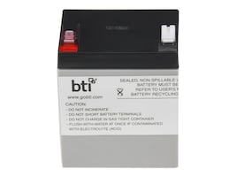 BTI Replacement UPS Battery for APC RBC46 BE500, RBC46-SLA46-BTI, 17772883, Batteries - Other
