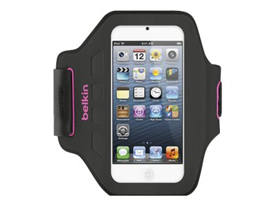 Belkin EaseFit Armband for iPod Touch 5, Day Glow, F8W149TTC01