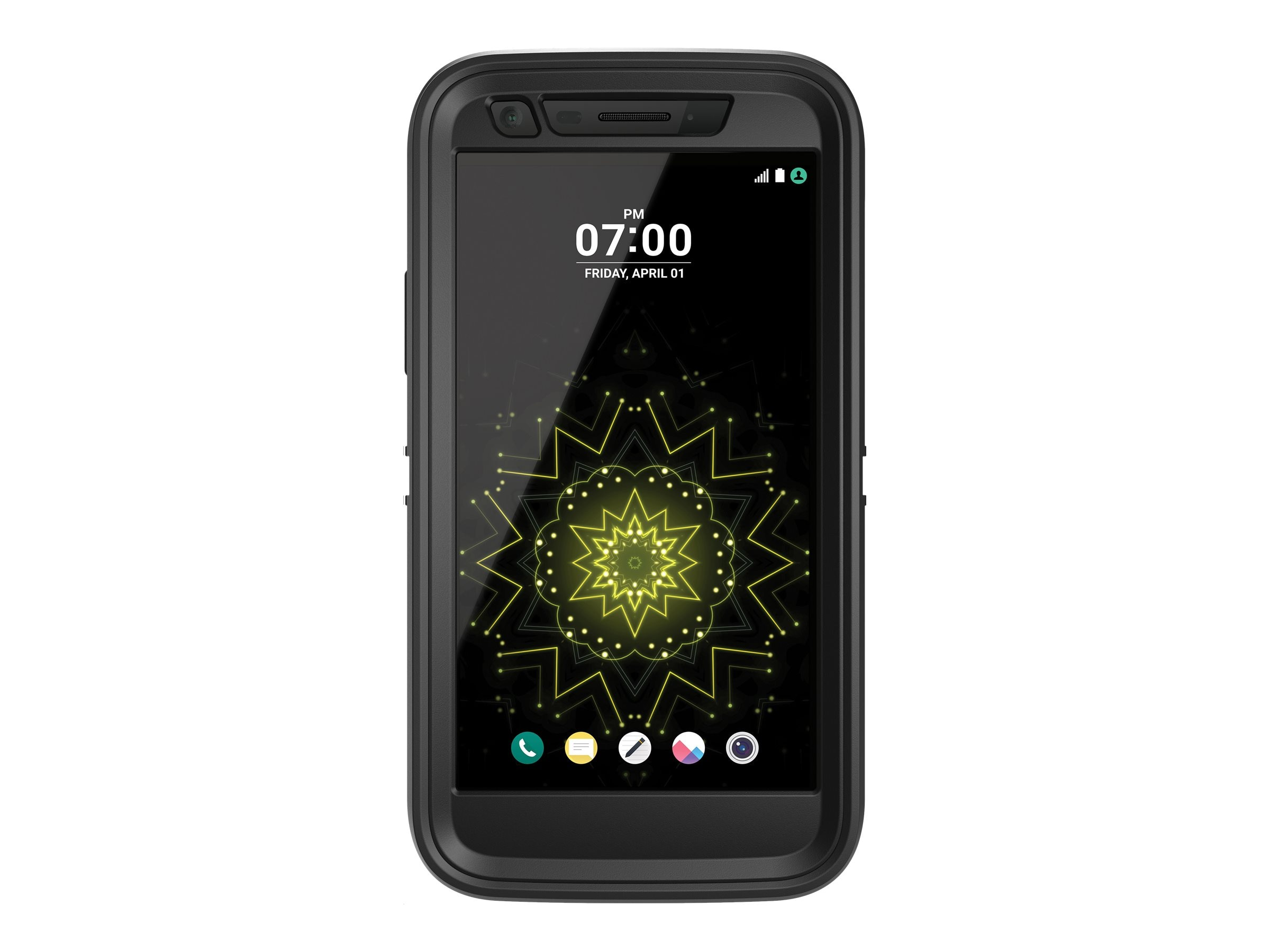 OtterBox Defender for LG, Black, 77-53348, 31498702, Carrying Cases - Phones/PDAs