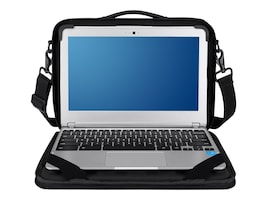 Belkin Air Protect Always-On Case for 11 Chromebooks, Blacktop, B2A074-C00, 18135309, Carrying Cases - Notebook