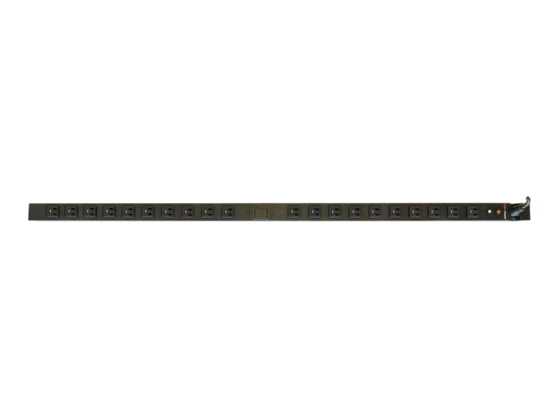 CyberPower Metered PDU 120V 20A 0U RM L5-20P Input 10ft Cord (20) 5-20R Front Outlets, RoHS, PDU20MVT20F, 11263973, Power Distribution Units