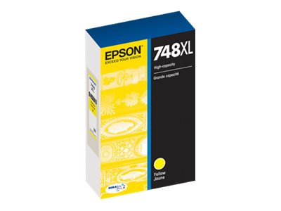 Epson Yellow 748XL High Capacity Ink Cartridge